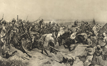 The Charge of the 21st Lancers at the Battle of Omdurman, 1898
