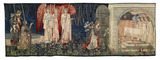 Quest for the Holy Grail Tapestries - Panel 6 - The Attainment; The Vision of the Holy Grail to Sir Galahad, Sir Bors and Sir Percival