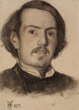 Portrait of Walter Howell Deverell (1827-54)