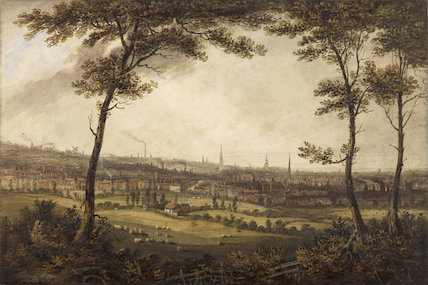South-West Prospect of Birmingham 1829