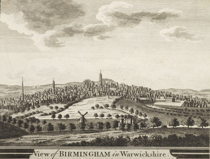 View of Birmingham In Warwickshire