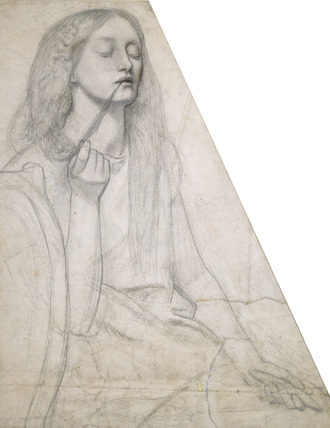 The Return of Tibullus to Delia - Figure Study