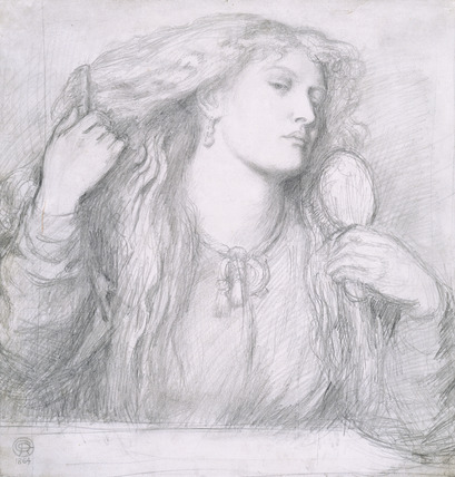 Woman combing her Hair, Fanny Cornforth