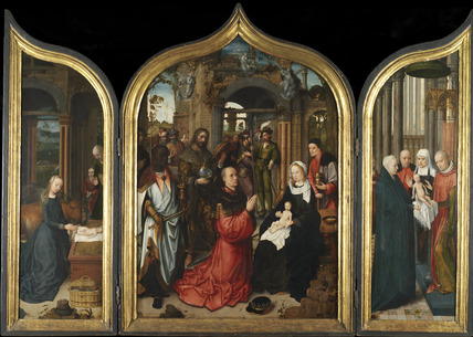 The Annunciation, Adoration of the Magi, The Circumcision