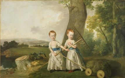Portrait of the Blunt Children