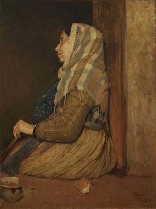 A Roman Beggar Woman