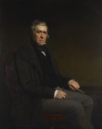 Portrait of David Cox (1783-1859)