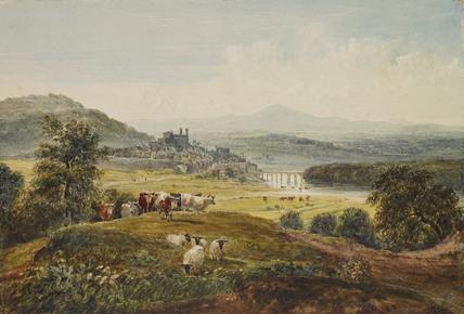 Landscape with a Bridge, Hay-on-Wye