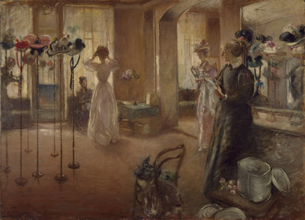 The Hat Shop By Henry Tonks At Birmingham Museums And Art