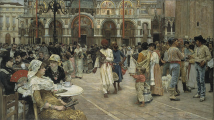 The Piazza of Saint Mark's, Venice