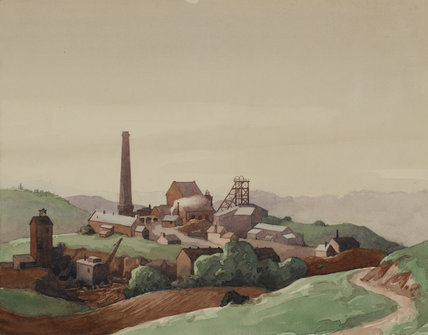 Coal Mine At Halesowen