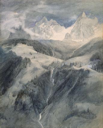 Cascade de la Folie, Chamonix