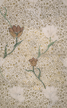 Wallpaper Design- Garden Tulip