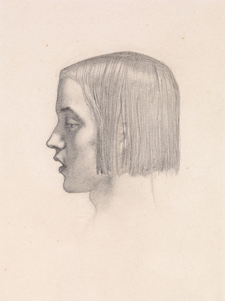 Isabella - Head study of the Youth