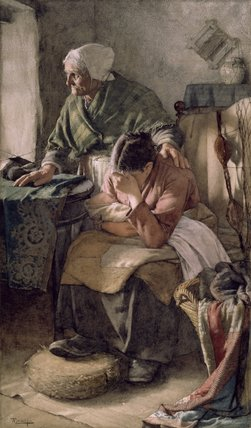 But Men Must Work and Women Must Weep Walter Langley