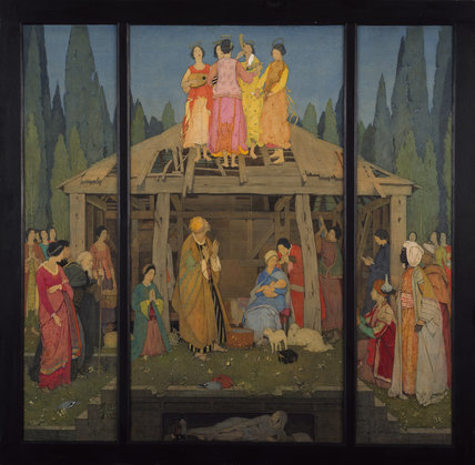 The Nativity (A Triptych)