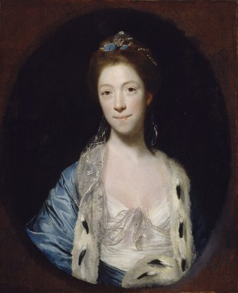 Portrait of Mrs Luther