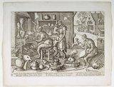 Laboratorium mit Affen