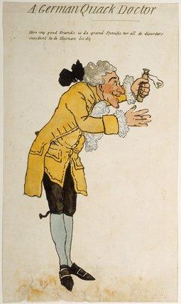 A German Quack Doctor