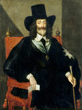 CHARLES I AT HIS TRIAL by Edward Bower (fl