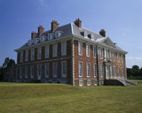 The south west aspect of the House at Uppark, now fully restored after the disastrous fire.