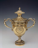 A Neo-classical racing cup by Daniel Smith and Robert Sharp, designed by Robert Adam in 1764
