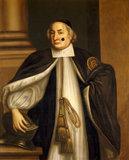 PETER MEWS portrait of Bishop of Winchester (1618-1706) artist unknown