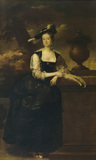 ANNE LEE, LADY VERNON by Thomas Hudson (?)
