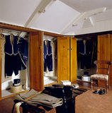 The Footmen's Livery Room at Lanhydrock