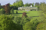The south front of Polesden Lacey, a Regency House near Dorking, Surrey