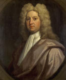 Portrait by Richardson of John Bourchier (1685-1736), who commissioned the building of Beningbrough