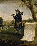 EDWARD PRINCE, CARPENTER 1792 by John Walters of Denbigh, at Erddig