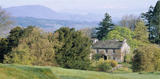 A view over Hill Top Farm and Near Sawrey, home to Beatrix Potter from 1905 until 1913 and where she is considered to have had the most productive years as a writer