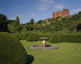 View of Powis Castle from the Fountain Garden