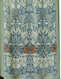 "William Morris ""Tulip and Rose"" tapestry, hanging beside the Drawing Room chimney-breast"
