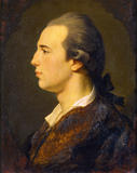 REGINALD POLE CAREW (1753-1835) by Wyrsch probably painted in 1773 in Besancon while he was on the Grand Tour