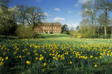 A view of the exterior of Clandon House, Surrey