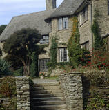 Exterior of Coleton Fishacre, the Arts & Crafts-style house designed in 1925 for Rupert and Lady Dorothy D'Oyly Carte, at Kingswear, Devon