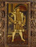 HENRY VIII (1491 - 1547), studio of Holbein