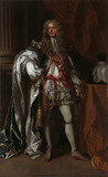 JAMES BUTLER, 1ST DUKE OF ORMONDE (1610-88) IN GARTER ROBES by Sir Peter Lely, inscribed and dated 1678
