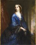 MARIA HARRIET HESKETH (1826-1905) m.1845, at Rufford Old Hall, Lancashire.