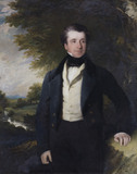 CHARLES PHELIPS, 1794-1869, in the Lower Maybank Corridor at Montacute House, Somerset