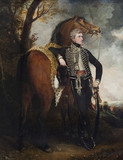 HENRY WILLIAM, LORD PAGET,  (1768-1854) LATER 1ST MARQUESS OF ANGLESEY, painting in the Music Room at Plas Newydd, Anglesey.