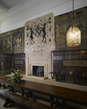 The Great Hall or Entrance Hall at Hardwick Hall, Derbyshire