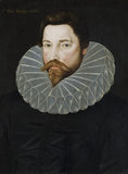 THOMAS PHELIPS, c.1500-1588/9, in the Screens Passage at Montacute House, Somerset.