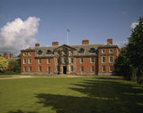 View of the south front of Dunham Massey, this early Georgian house was extensively reworked in the early years of the 20th century