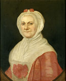 PORTRAIT OF MRS ELIZABETH BENTHALL, c.1760-80 in the Library.