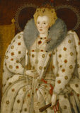 QUEEN ELIZABETH I, derived from the Ditchley Portrait c. 1591