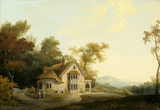 DESIGNS FOR A PICTURESQUE VILLAGE by John Nash, c 1798