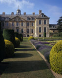 NB This is not a current view. View of the north front of Belton seen from the Dutch Garden